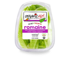 Load image into Gallery viewer, Organicgirl Romaine Heart Leaves, 7 oz Clamshell