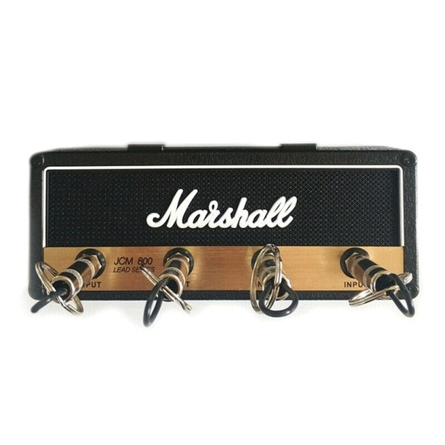 Vintage Guitar Amplifier Key Holder Key Hanger Jack Rack 2.0 Marshall JCM800 Marshall Key Wall Holder Guitar Home Decoration