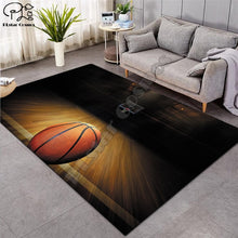 Load image into Gallery viewer, Carpet 3D Basketball Larger Mat Flannel Velvet Memory soft Rug Play Game Mats Baby Craming Bedroom Area Rugs Parlor Decor-1