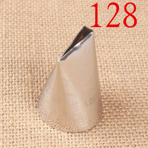 5pcs #123#124K#126K#127K#128 Stianless Steel Icing Piping Nozzles Set Cake Decoraitng Tips Cupcake Cream Icing Piping Nozzles