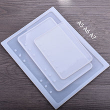 Load image into Gallery viewer, DIY Resin Filling Chic Book Epoxy Silicone Mold For Epoxy UV Resin Front Cover Makeing Filling Handcraft Girl Children Gifts
