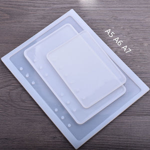DIY Resin Filling Chic Book Epoxy Silicone Mold For Epoxy UV Resin Front Cover Makeing Filling Handcraft Girl Children Gifts