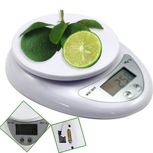 Kitchen Scales 5kg 5000g 1g Digital Kitchen Foods Diet Postal Scale Electronic Weight Balance bascula cocina весы кухонные