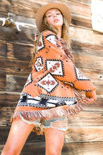 Load image into Gallery viewer, MOXIE AZTEC CARDIGAN