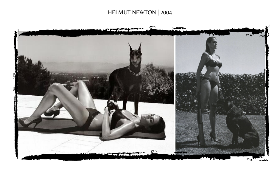 Cindy Crawford by Helmut Newton