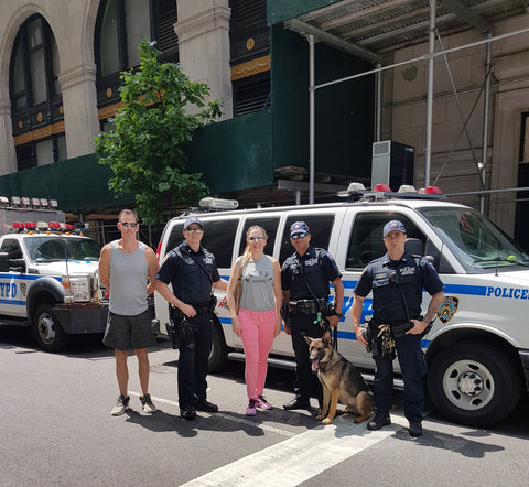 NYPD K-9 Unit with Cameron and Melody Townsend, Active Creatures