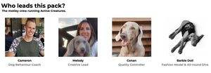 Who leads this pack? Meet the founders of Active Creatures. It's a family run business.