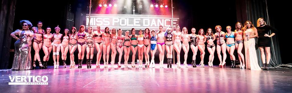 Miss Pole Dance Australia 2017 finalists