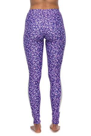 Nostalgia Purple Reign Full Length Legging