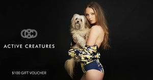 Active Creatures $100 Gift Voucher