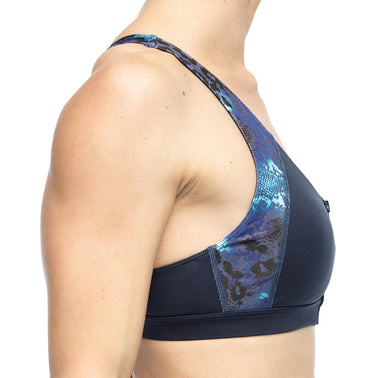 Voluptuous Bra Top in Cobalt Attraction