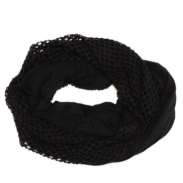 Twisted Scarf in Black Night