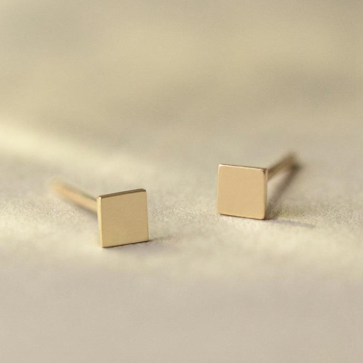 Square Small Earrings