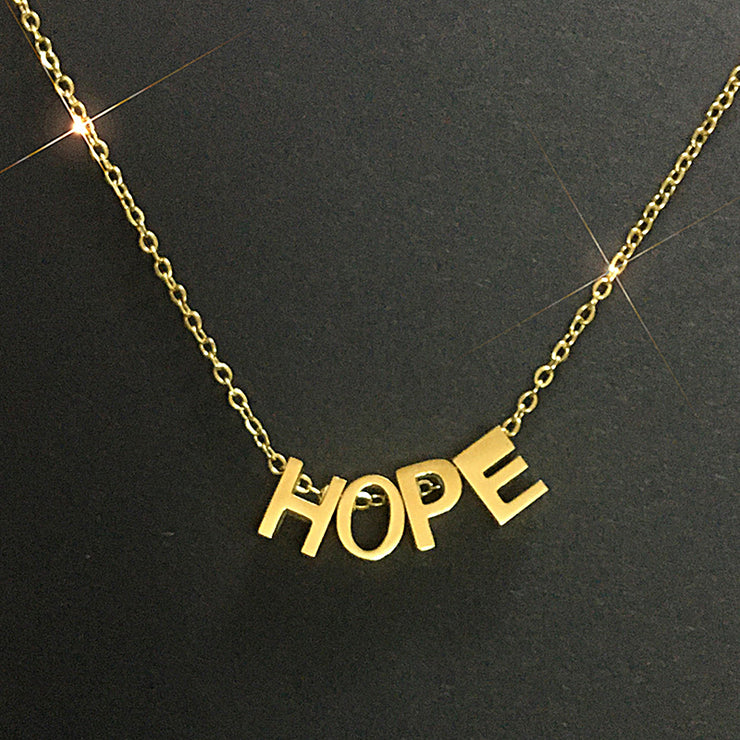 Hope Necklace and Classic Necklace