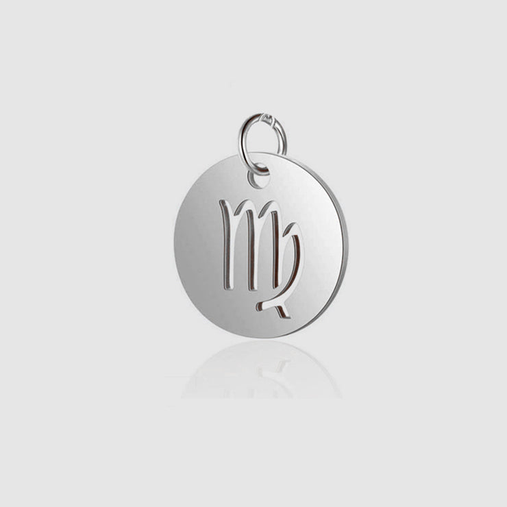 Diy Stainless Steel 12 Zodiac Charms