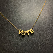 Vote Necklace and Classic Necklace