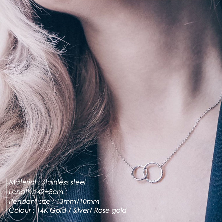 Simple Double Layered Necklace
