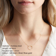 Layered Necklace 2 in 1