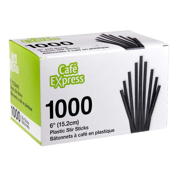 CafeExpress6in.CoffeeStirStix1000pkSupplies