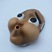 Hyottoko Mask Red