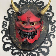 Hannya Mask Red Special Frame