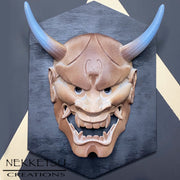 Hannya Mask Wood