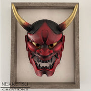 Hannya Mask Red