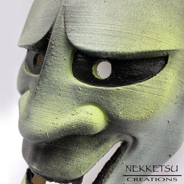 Oni Mask Green