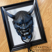 Hannya Mask Deep Blue