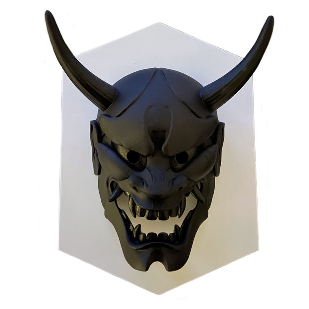 Hannya Mask Flat Black