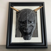 Phantom Black & Gold Edition | Hannya Mask w/frame
