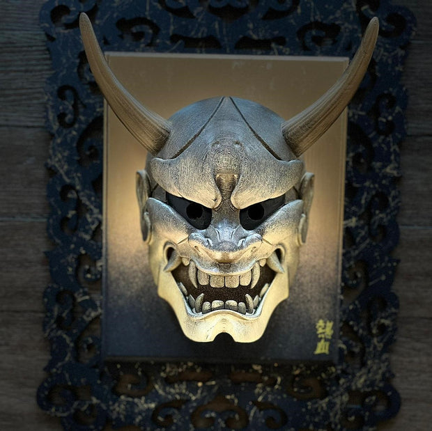 Gold Edition | Hannya Mask w/frame