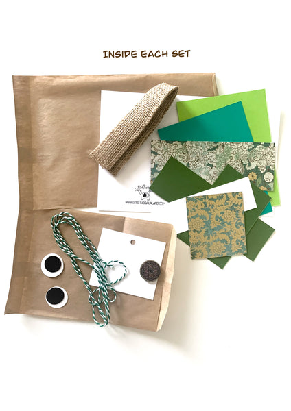 Alligator DIY Greeting Card Kit