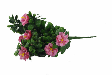 Pink Rose Bunch UV 45cm