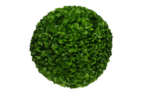 Large Clover Hedge Topiary Ball UV Resistant 48cm