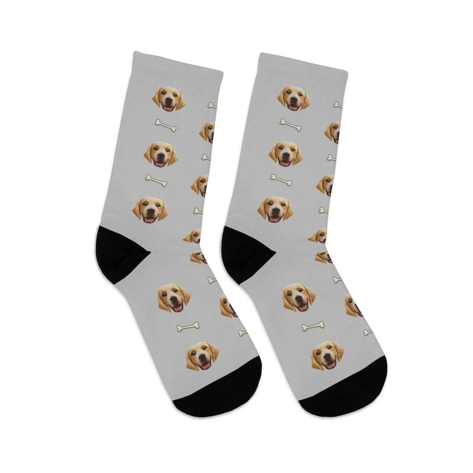 Custom Dog Socks With Your Dog Picture
