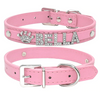 Shimmery® Personalized Rhinestone Cat Dog Collar Charms Accessories