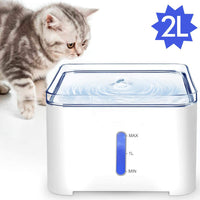 Best Gulp® Pet Cat Water Fountain Electric Dispenser