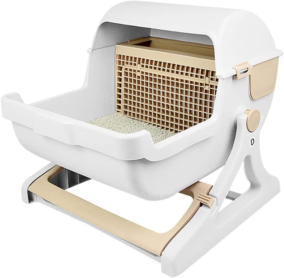 Fecalux® Pet Semi Automatic Cat Litter Box