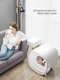 KitBox® Automatic Cat Litter Box