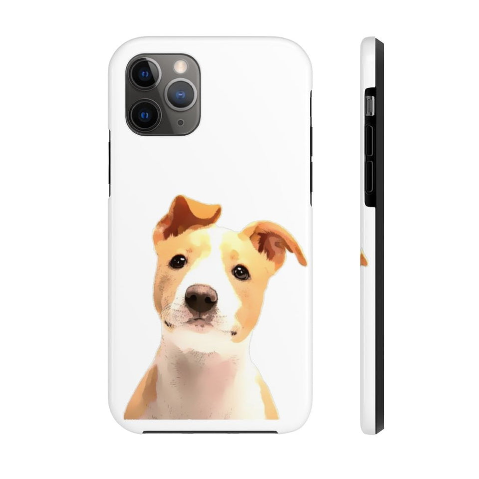 CUSTOM IPHONE CASE WITH YOUR PET PICTURE