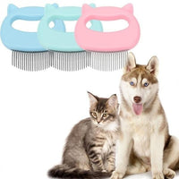 Fur Hero® Pet Hair Remover Massaging Shell Comb