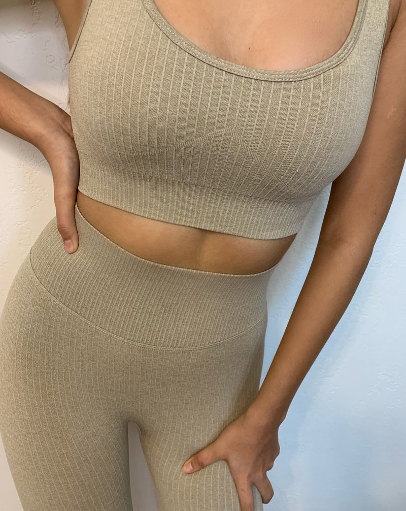 Nude Seamless Workout Set