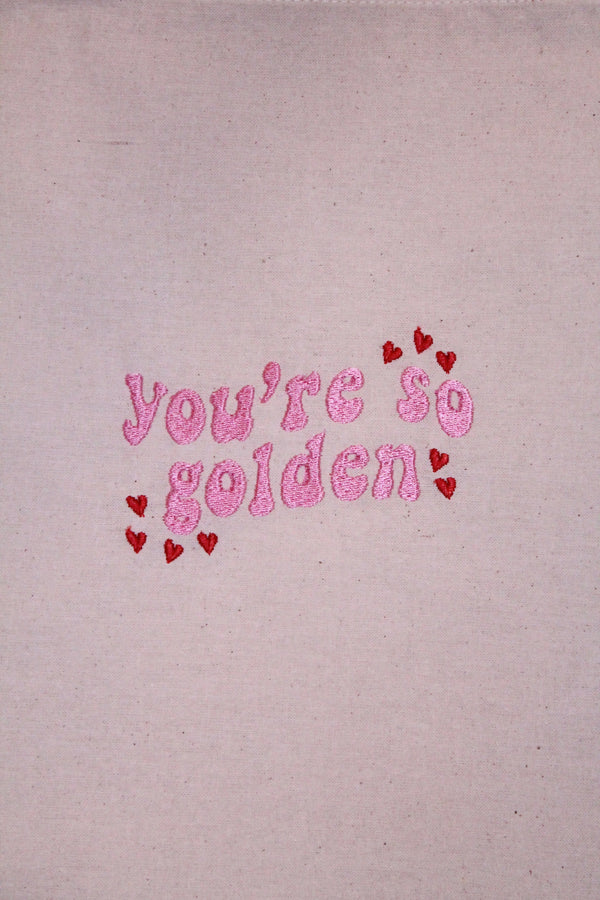 You're So Golden Tote Bag