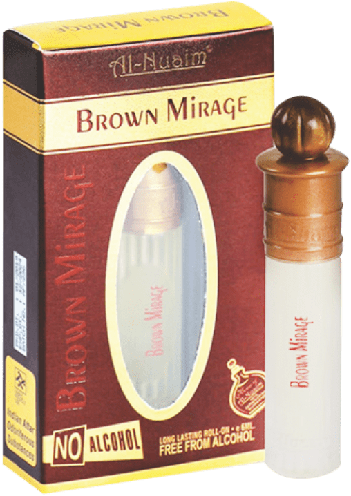 Al Nuaim Brown Mirage Attar 6ml