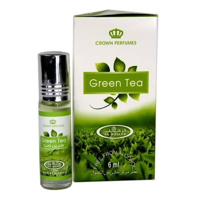 Al Rehab Green Tea Attar 6ml