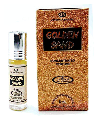 Al Rehab Golden Sand Attar 6ml