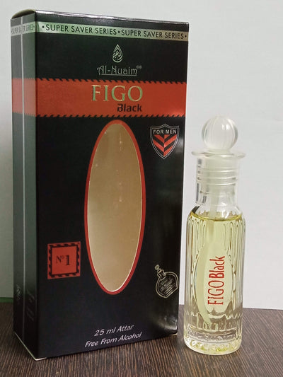 Al Nuaim Figo Black Attar 25ml