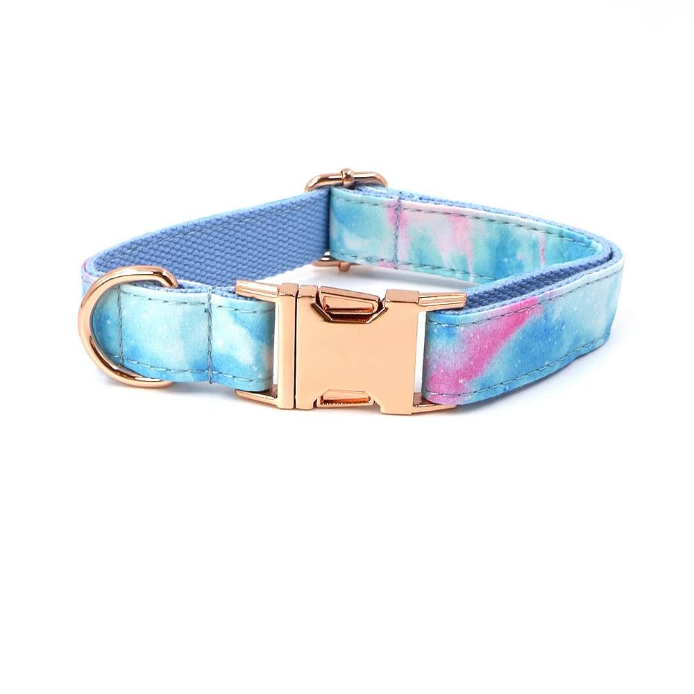 The 'Intergalactic Cotton Candy' Collar