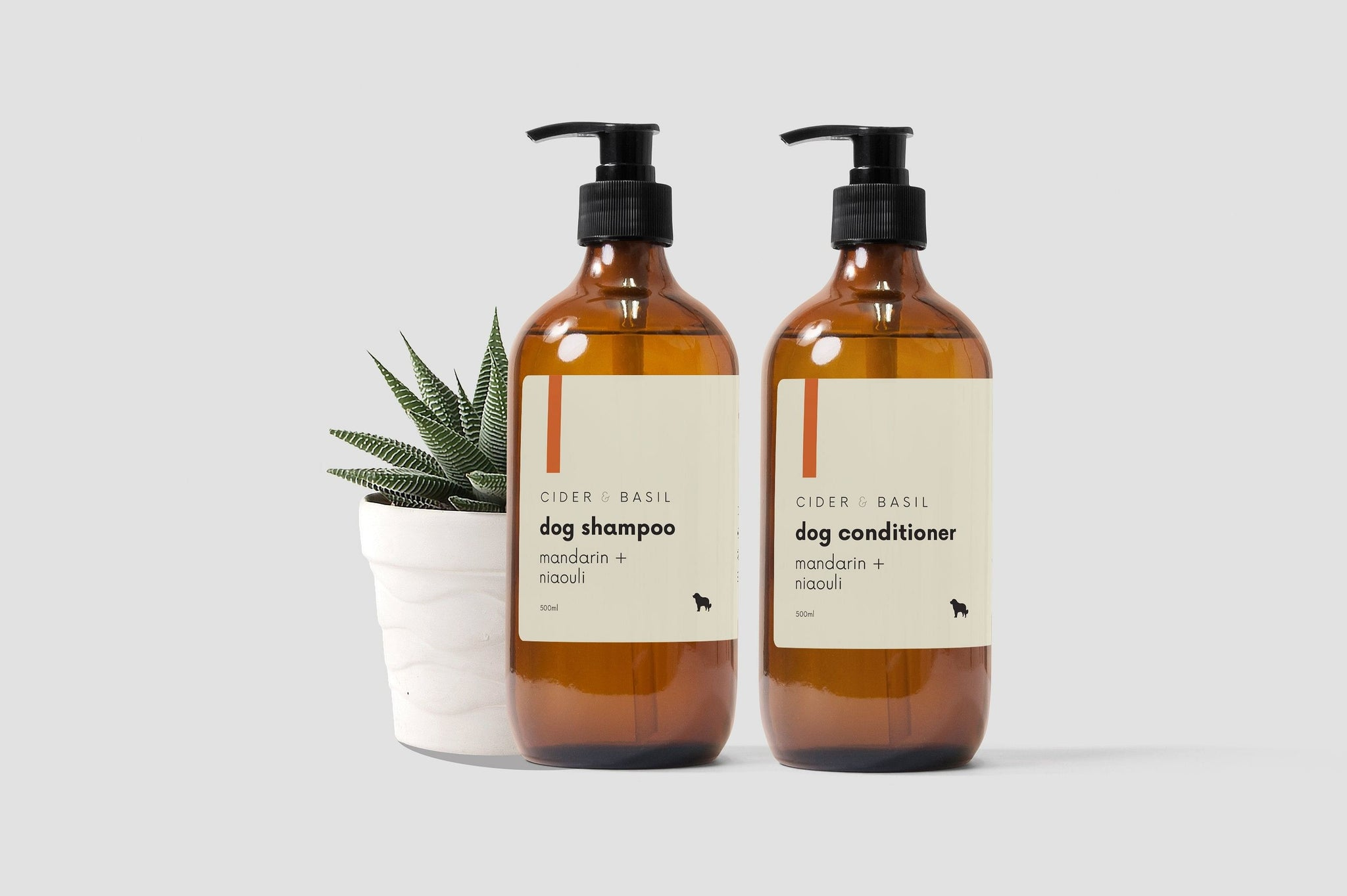 Pet Shampoo & Conditioner Set - Cold Pressed Mandarin & Niaouli